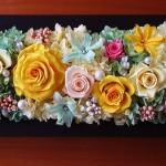 プリザーブドフラワー ブライダル オーダー 新築祝い 結婚祝い いわもとプリはな 福井市