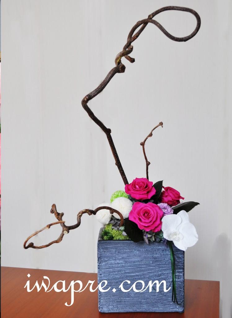 生け花とプリザの融合