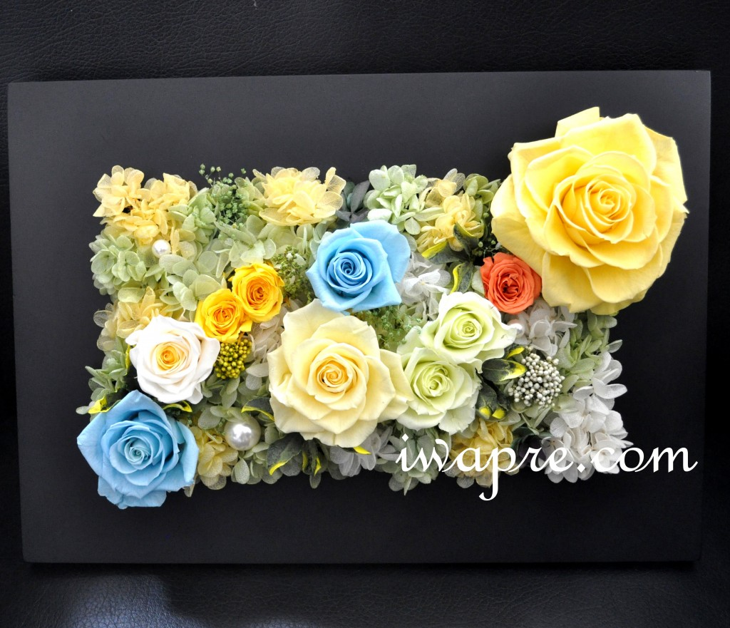 結婚式での贈呈花 新郎様がご自宅で仕上げられました。
