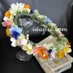 プルメリアの花冠 プリザーブドフラワー